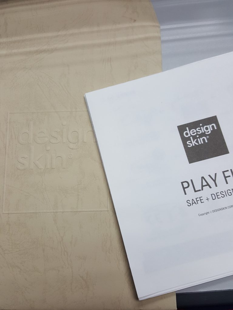 All designskin playmats come with an instruction booklet