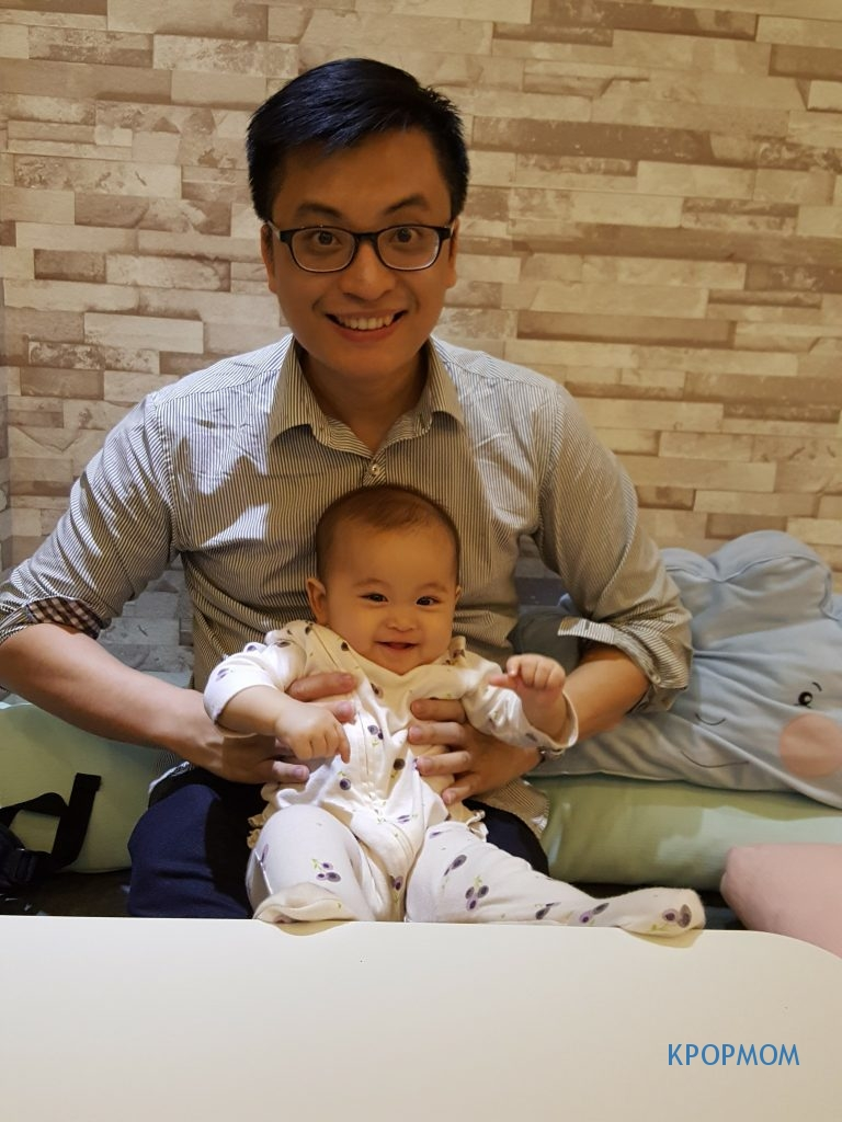 Most of my ex colleagues and some friends think Arissa looks just like daddy