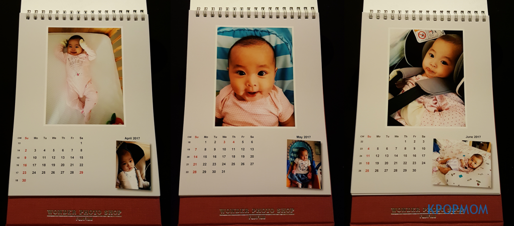 April to June faces of my little girl