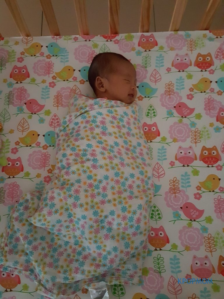 Baby A was swaddled every night as tightly as possible up to when she was 5 months old!