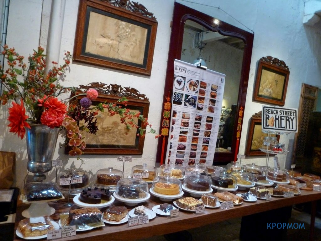 China House - you will be mesmerized by the cakes..