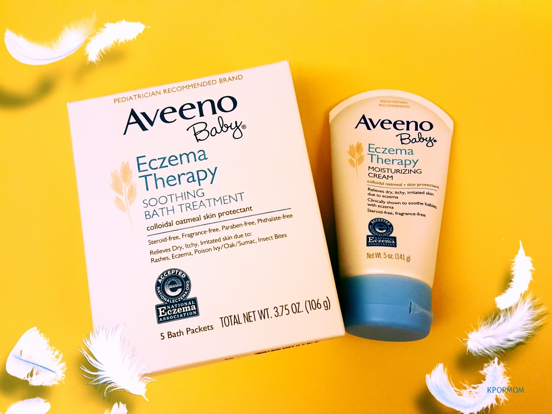 KPOPMOM Tries Aveeno Baby Products - KPOPMOM