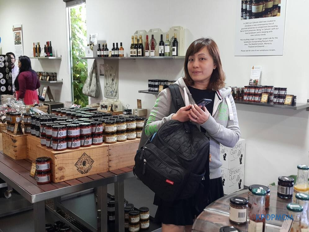 You can purchase honey and jams from their shop. It is all locally produced..